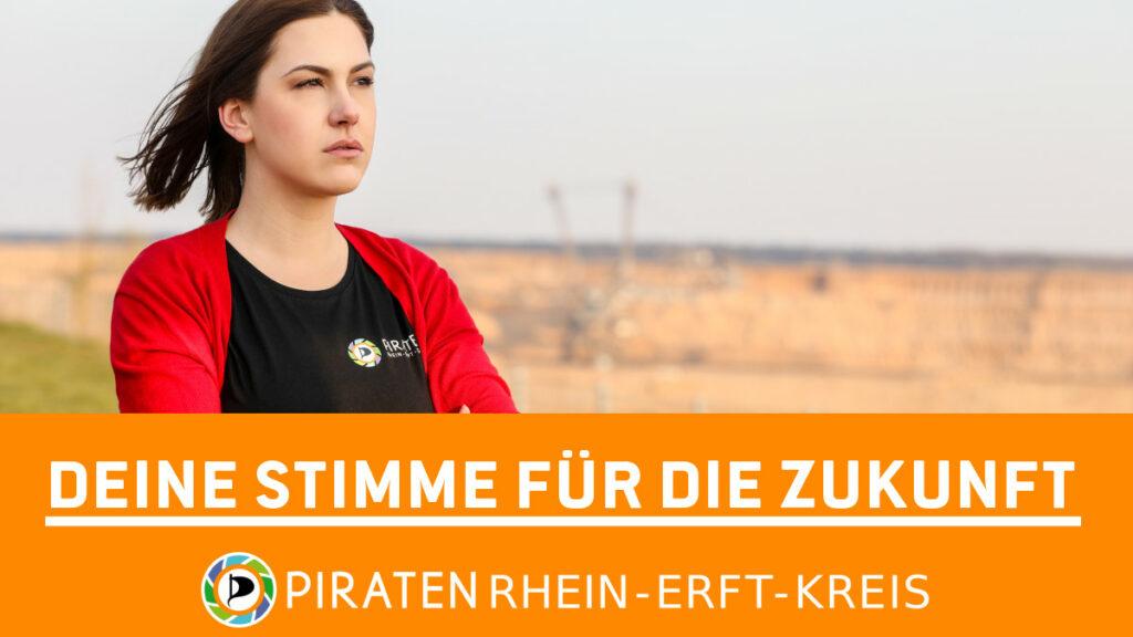 Deine Stimme für die Zukunft – Piraten Rhein-Erft-Kreis